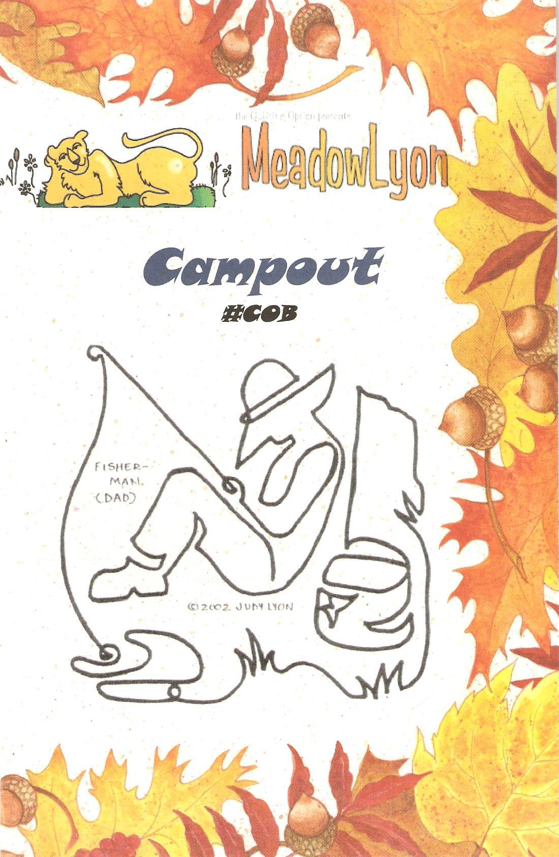 Campout Block - COB - Cover