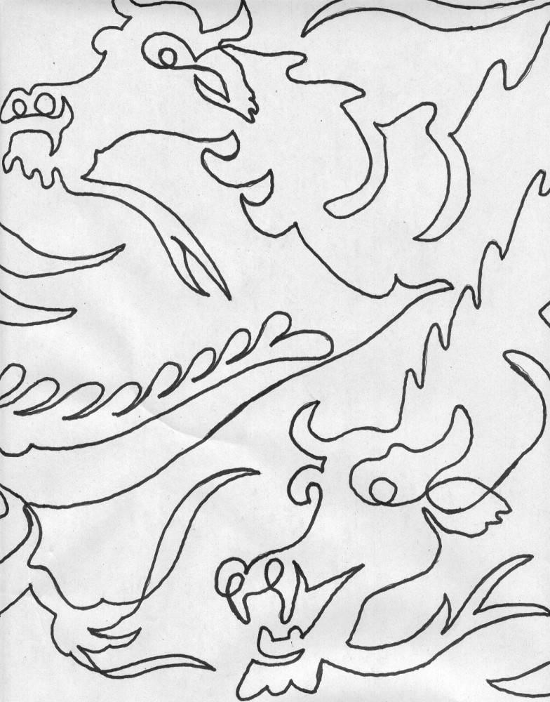 Dragons Galore - Closeup