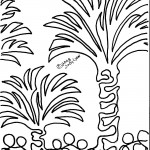 Palm Trees - Border