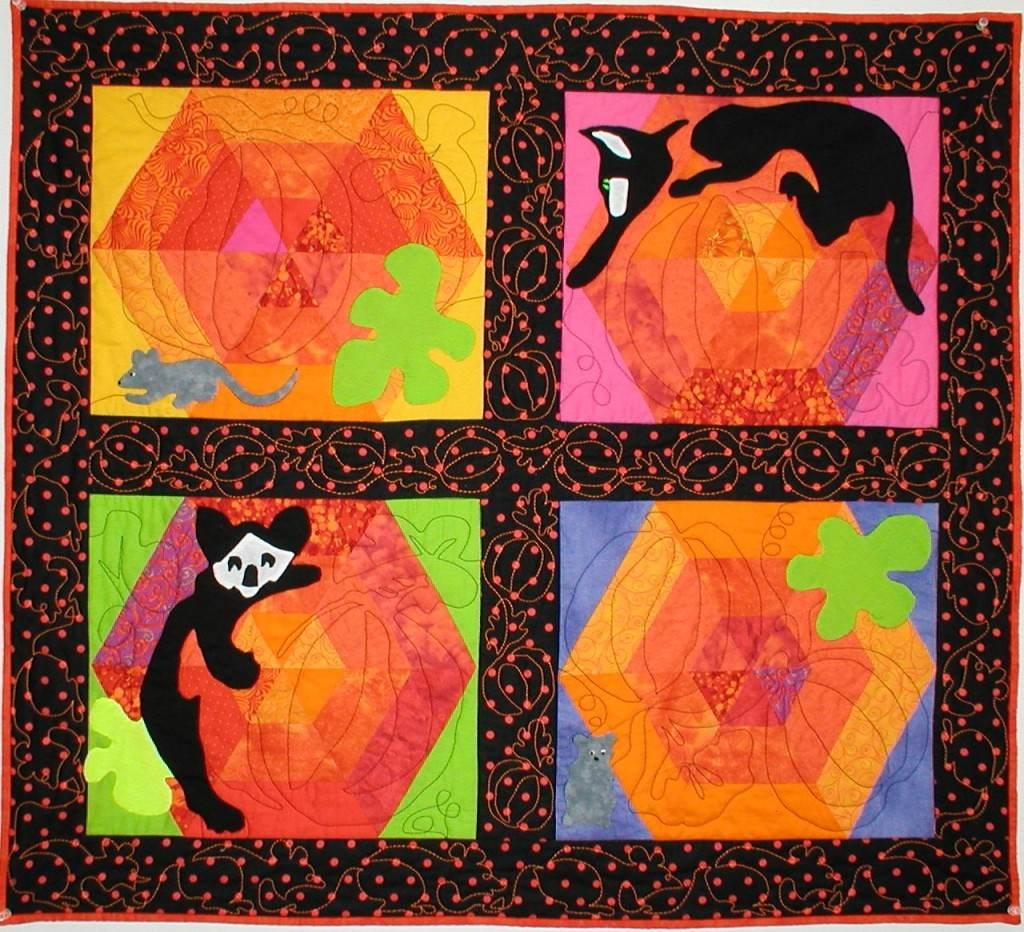 Pumpkin Toplique - Quilt
