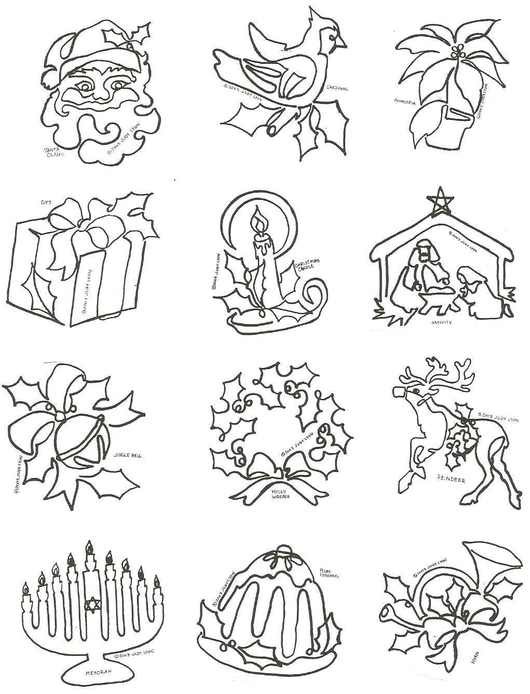 Symbols of the Season Block - SofSB - Collection of 12