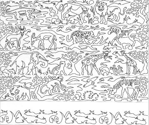 Safari 6 Border Pattern Meadowlyon Designs