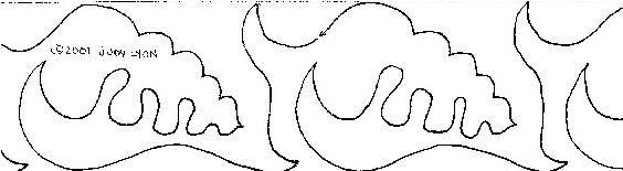 Little Patterns - Seashell - Border
