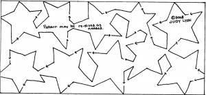 Starry Night - Border