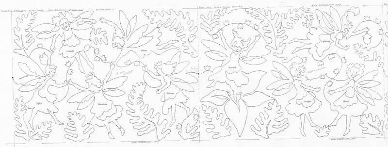 Fairy Spring Edge-to-Edge Pattern
