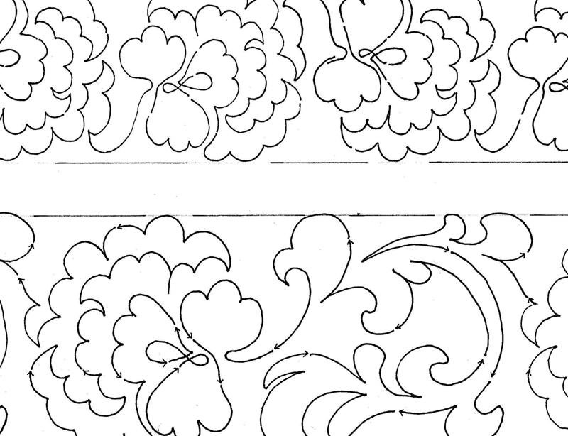 CHINESE EMBROIDERY PATTERNS