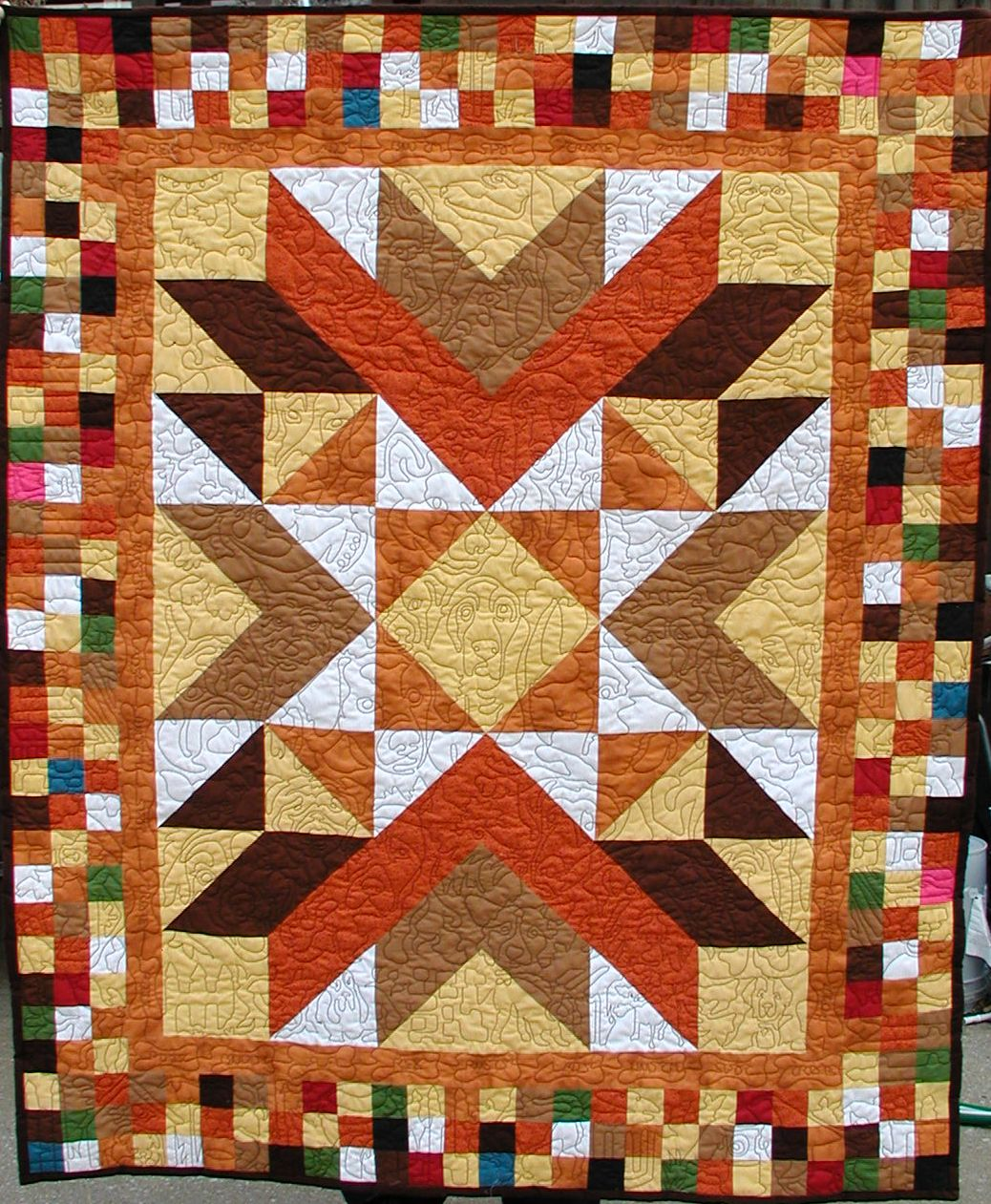 Dog Patch Quilt