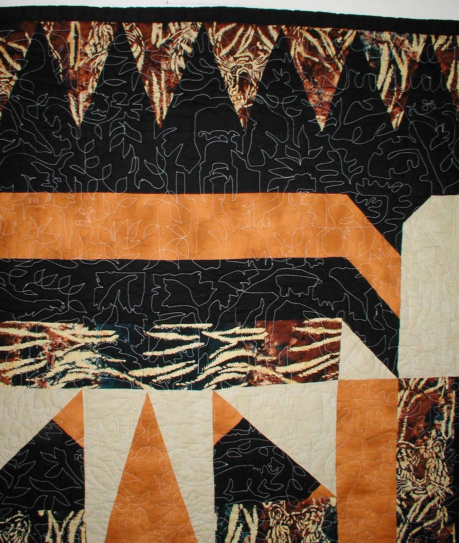Tiger Quilt Pattern Meadowlyon Designs