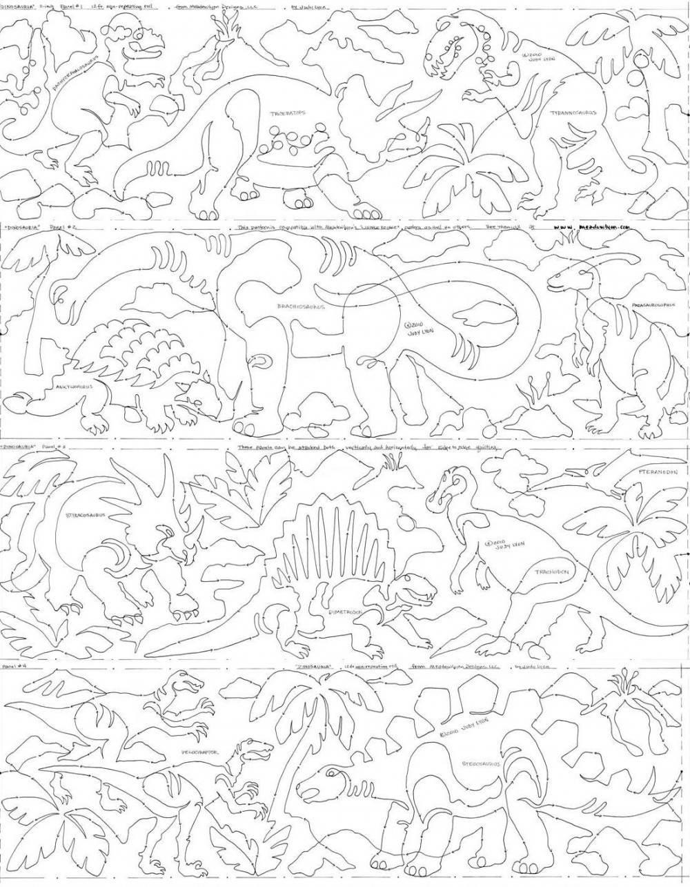 Dinosauria stacked