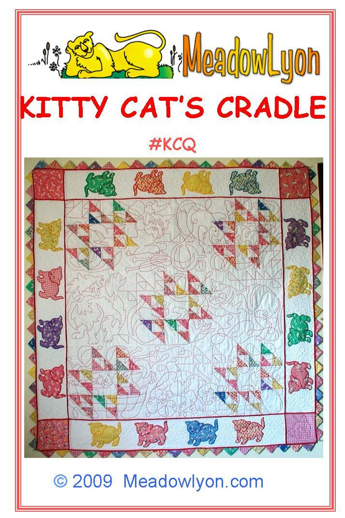 Kitty Cat's Cradle Quilt