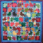MAPLE BREEZE by Judy Lyon quilted by Mildred Jordt