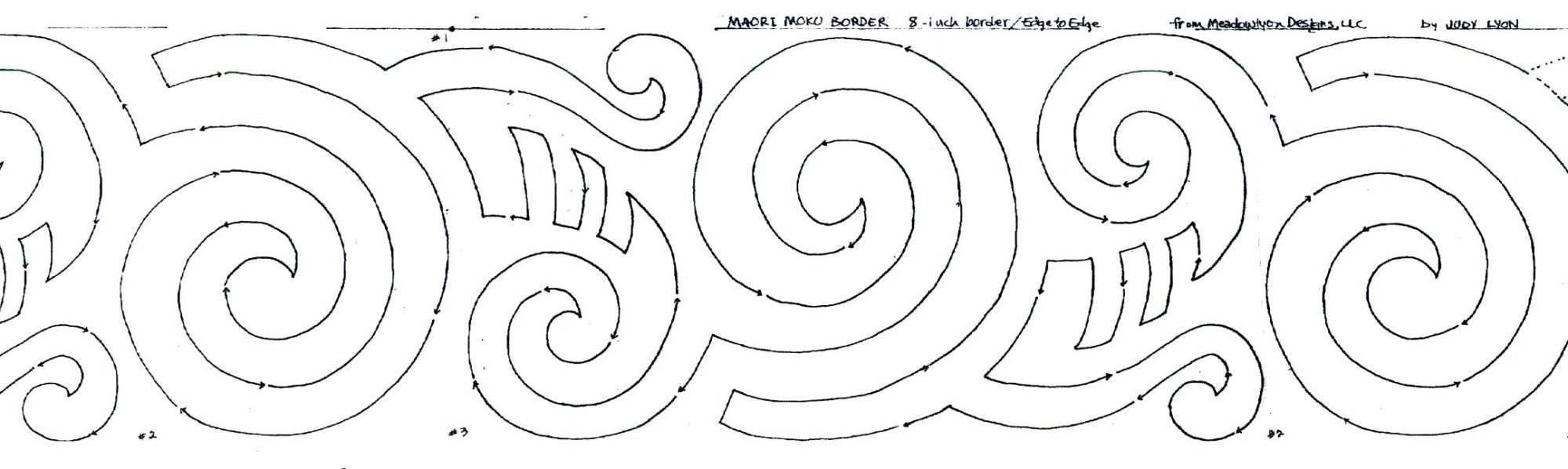 42 Maori Moko Set Meadowlyon Designs