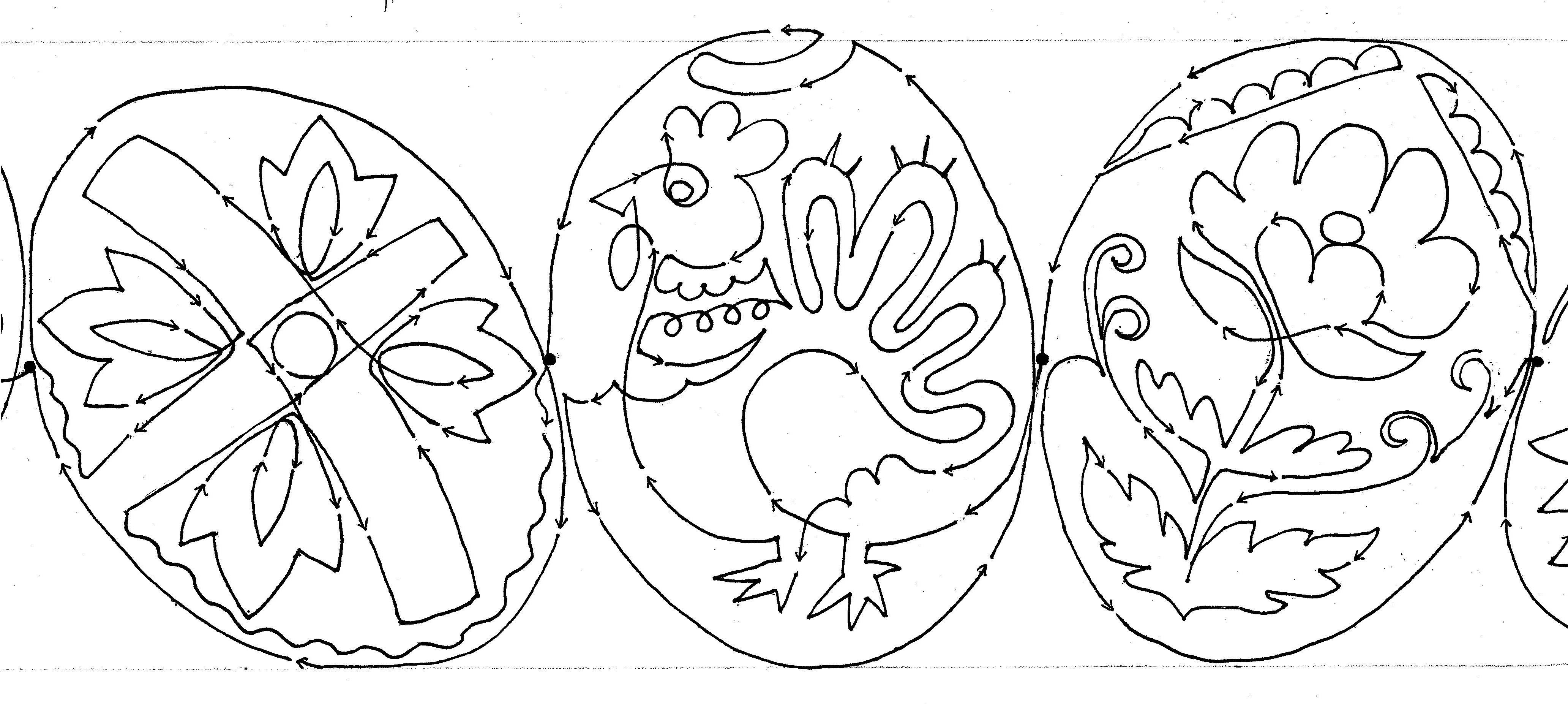 Free Ukrainian Egg Designs Coloring Pages Ukrainian Coloring Pages