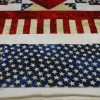 Patriotic Quilt by Christine Turner with Eagle Americana on it