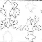 fleur de lis interlok