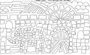 Bengali Mosaic Panel 1