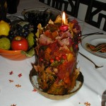 Fall Leaves Ice Candle