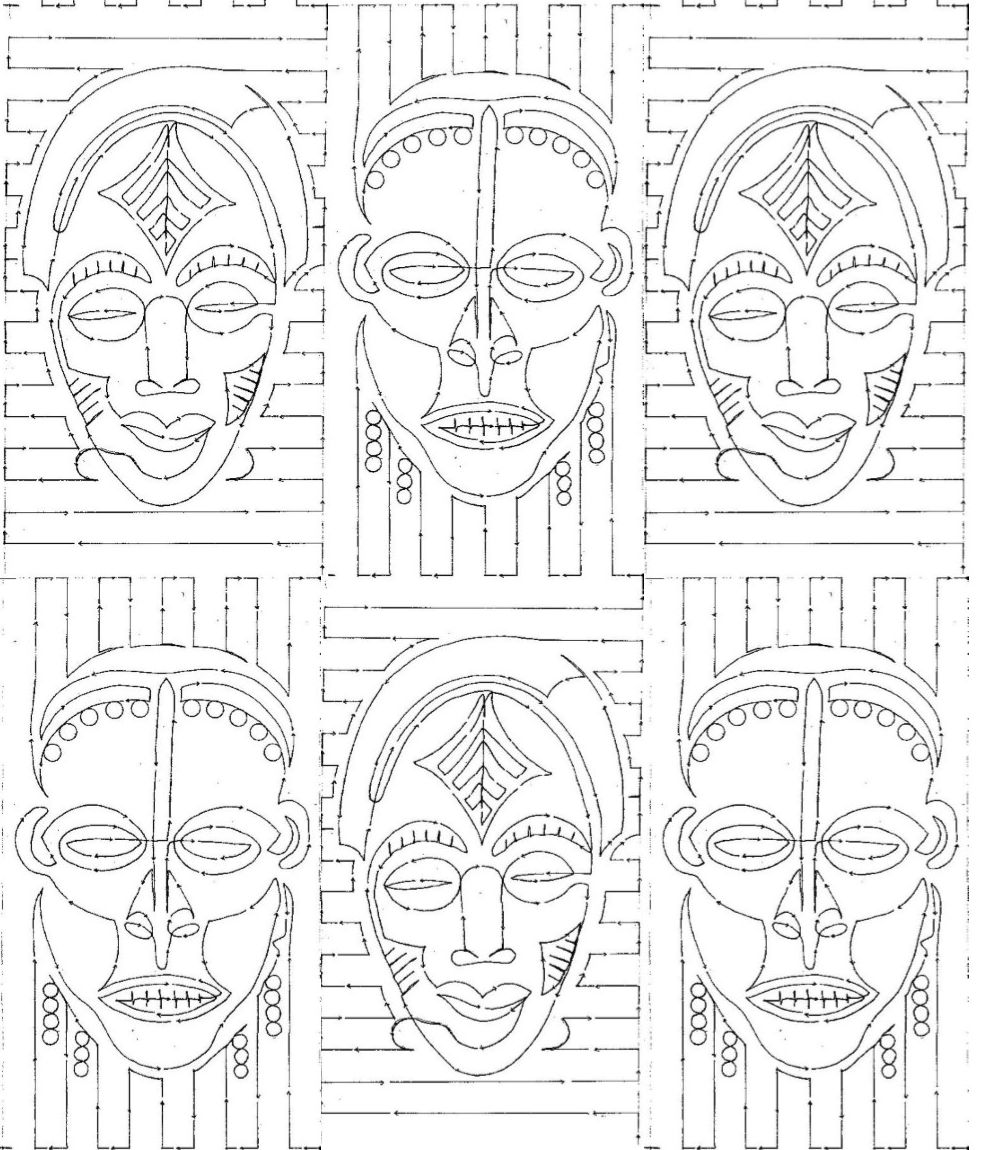 Printable African Stencils Joy Studio Design Gallery