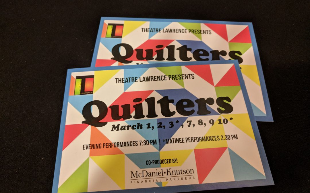 """QUILTERS"" – The Musical!"